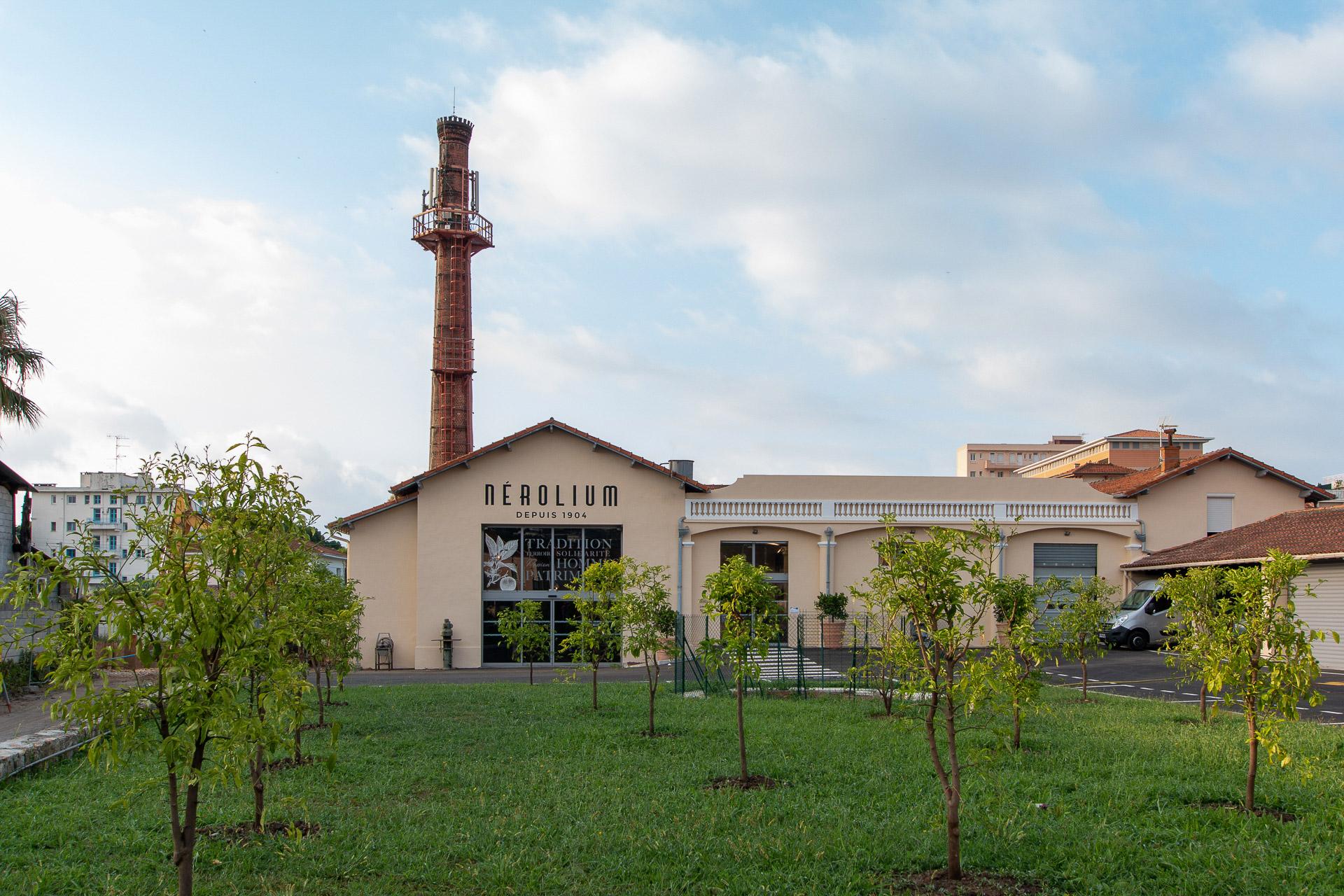 Rénovation Usine Golfe-Juan – (parution Nice-Matin du 26.06.2020)