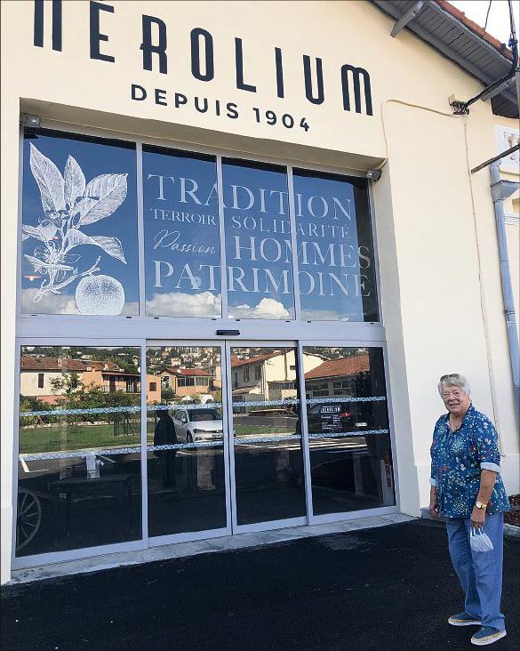 L'Écomusée du Nérolium a ouvert ses portes à Golfe – (parution Nice-Matin du 24.09.2020)